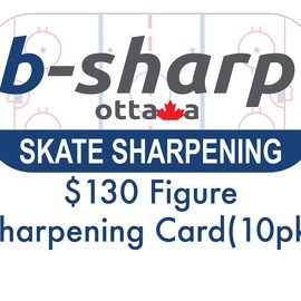 b-sharp ottawa $130 Figure Sharpening Card