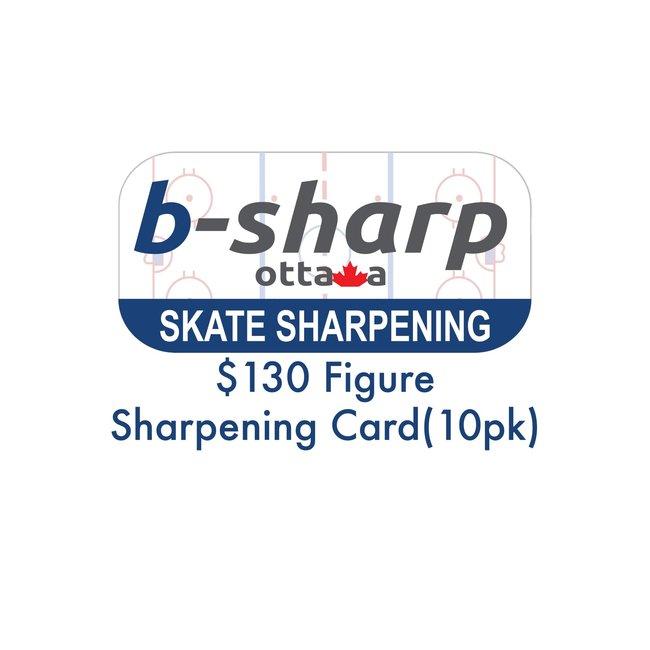 b-sharp ottawa $130 Figure Sharpening Card