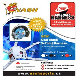 Nash Goal Mask Harness 5-point