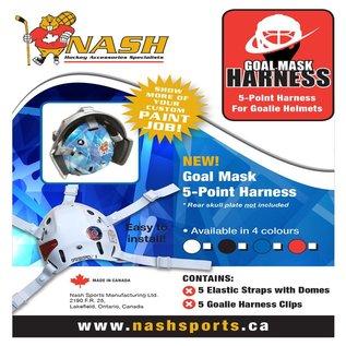 Nash Goal Mask Harness 5-point