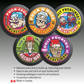 Odor-Aid Puck'n Hockey Wax