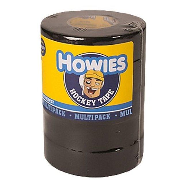 """Howies Howies 5 Pack Black Tape 1""""x20 yd"""