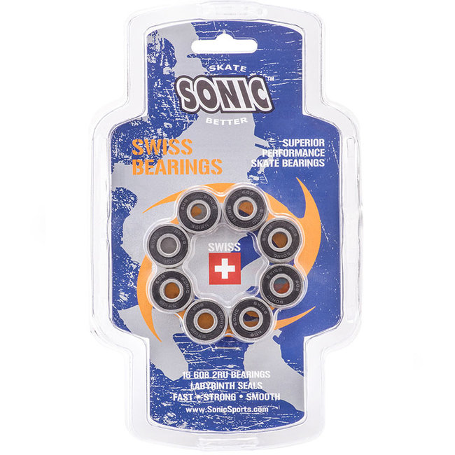 Sonic Swiss Bearings 16pk
