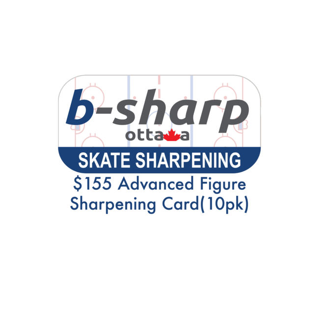 b-sharp ottawa $155 Advanced Figure Sharpening Card