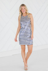 SAIL TO SABLE CROSS BACK TANK DRESS