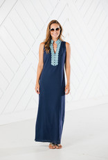 SAIL TO SABLE SLEEVELESS MAXI TUNIC