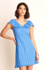 HATLEY EYELET SHIFT DRESS