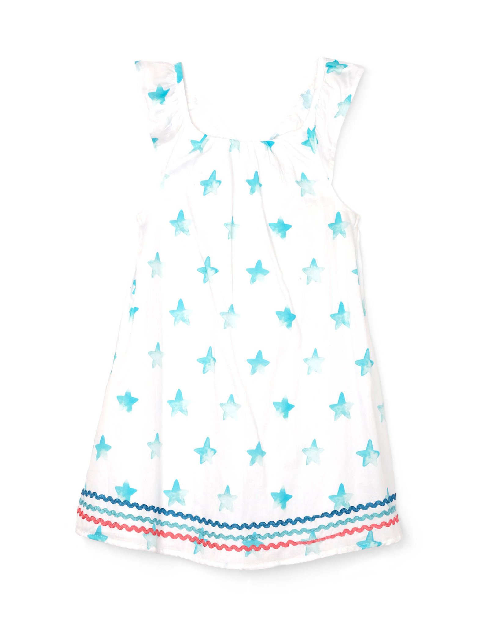 LITTLE BLUE HOUSE (HATLEY) BOW BACK DRESS