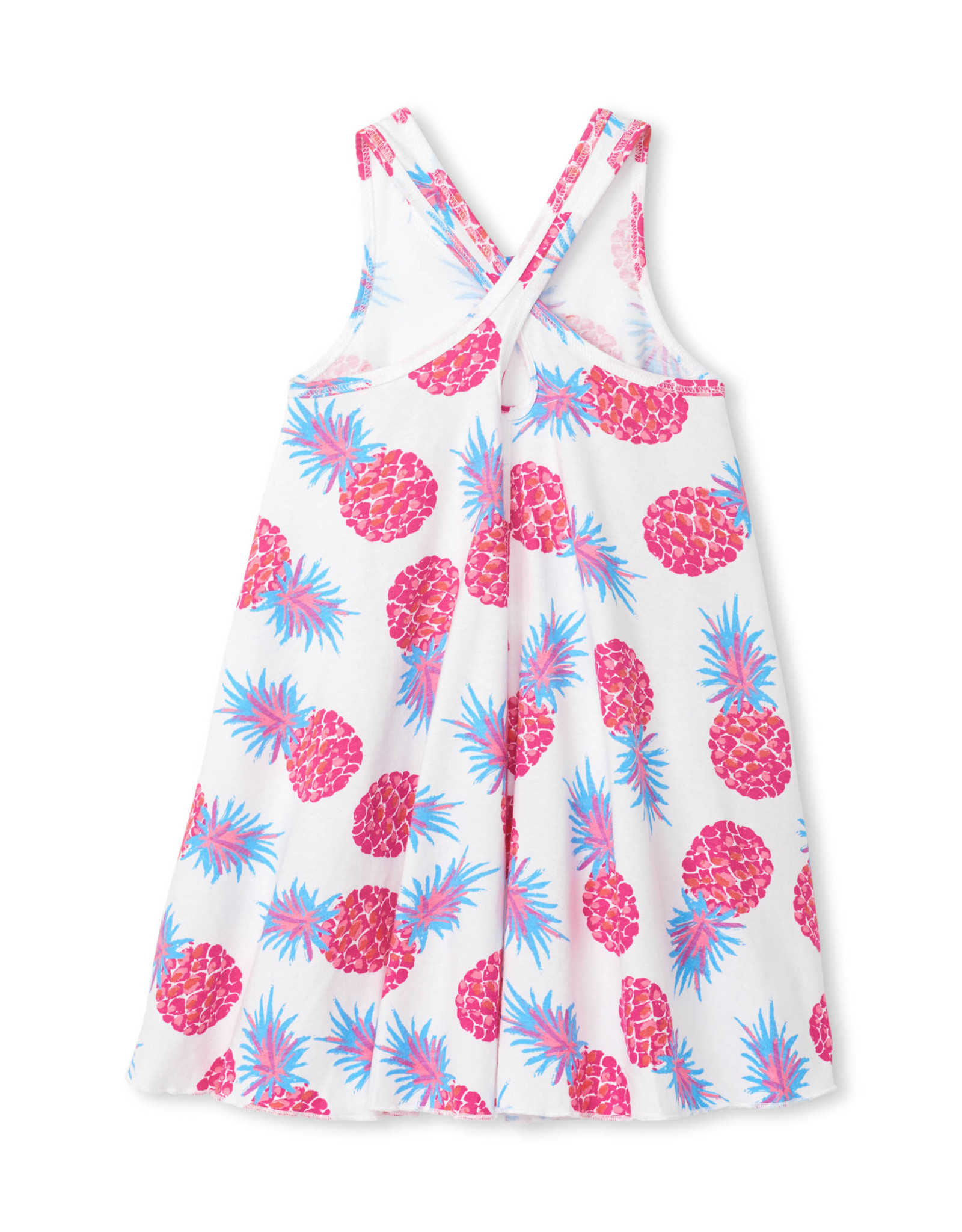 LITTLE BLUE HOUSE (HATLEY) GIRLS TRAPEZE DRESS