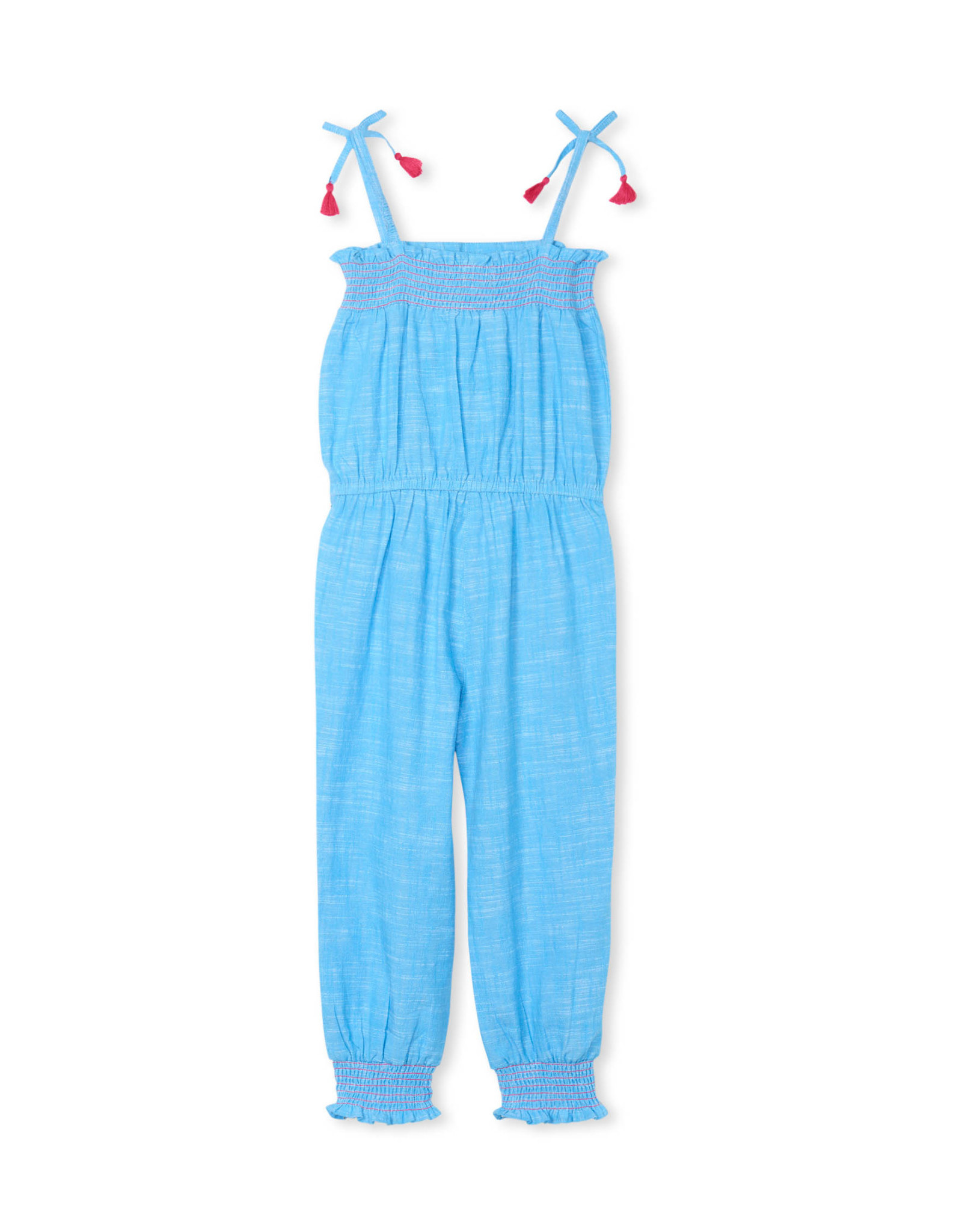 LITTLE BLUE HOUSE (HATLEY) SMOCKED JUMPSUIT