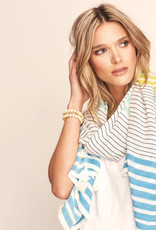 HATLEY STRIPED SCARF