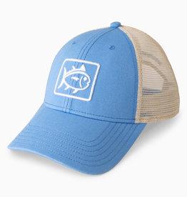 SOUTHERN TIDE WEEKEND EMB TRUCKER HAT SAIL BLUE