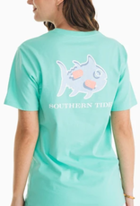 SOUTHERN TIDE POOL DAY SKIPJACK TEE