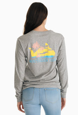SOUTHERN TIDE SUNSET RISING LS TEE