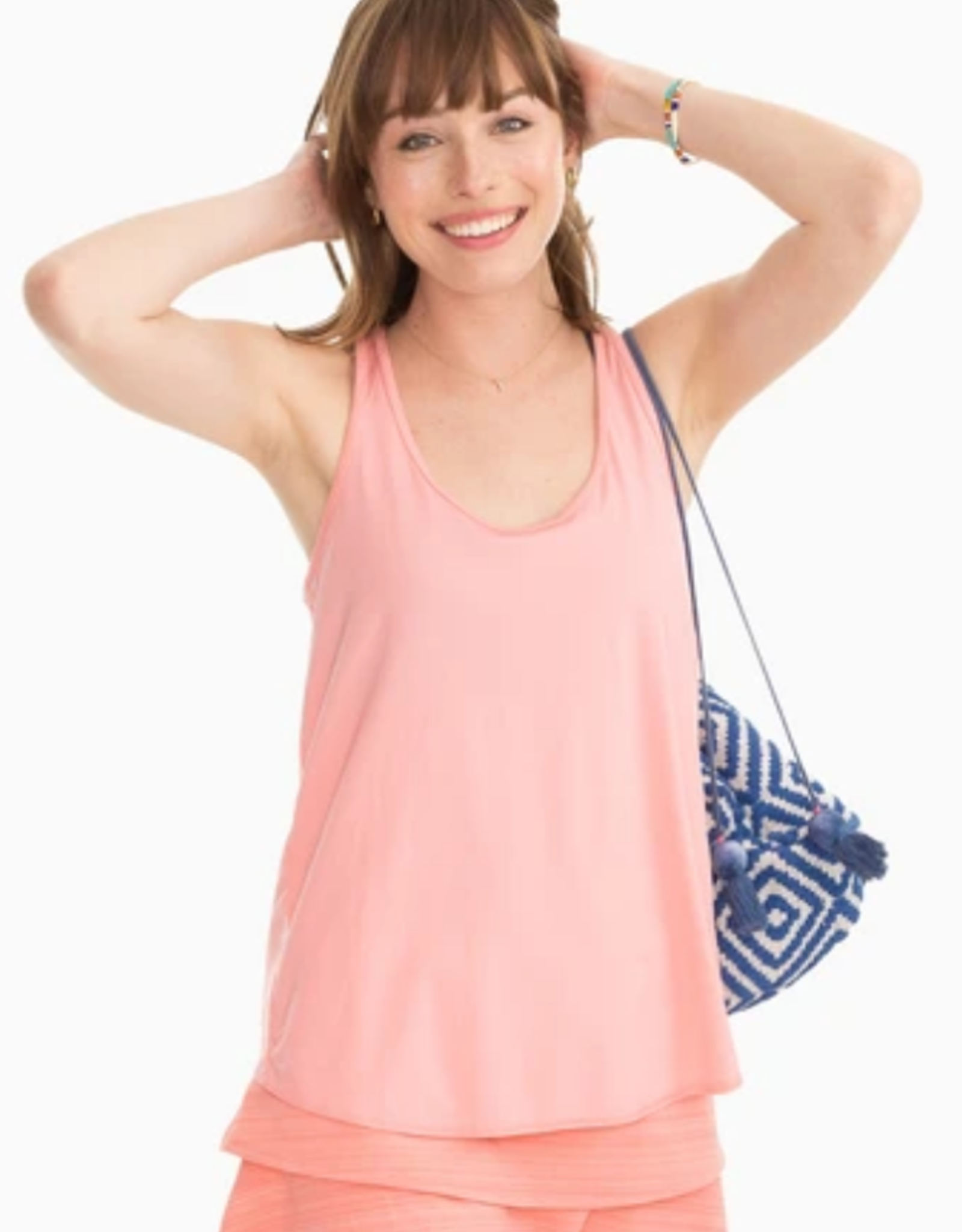 SOUTHERN TIDE RACERBACK PERFORMANCE TANK