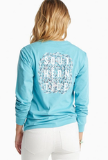 SOUTHERN TIDE GRAPHIC LS TEE