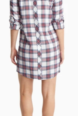 SOUTHERN TIDE ALYSSA SHIRTDRESS PLAID