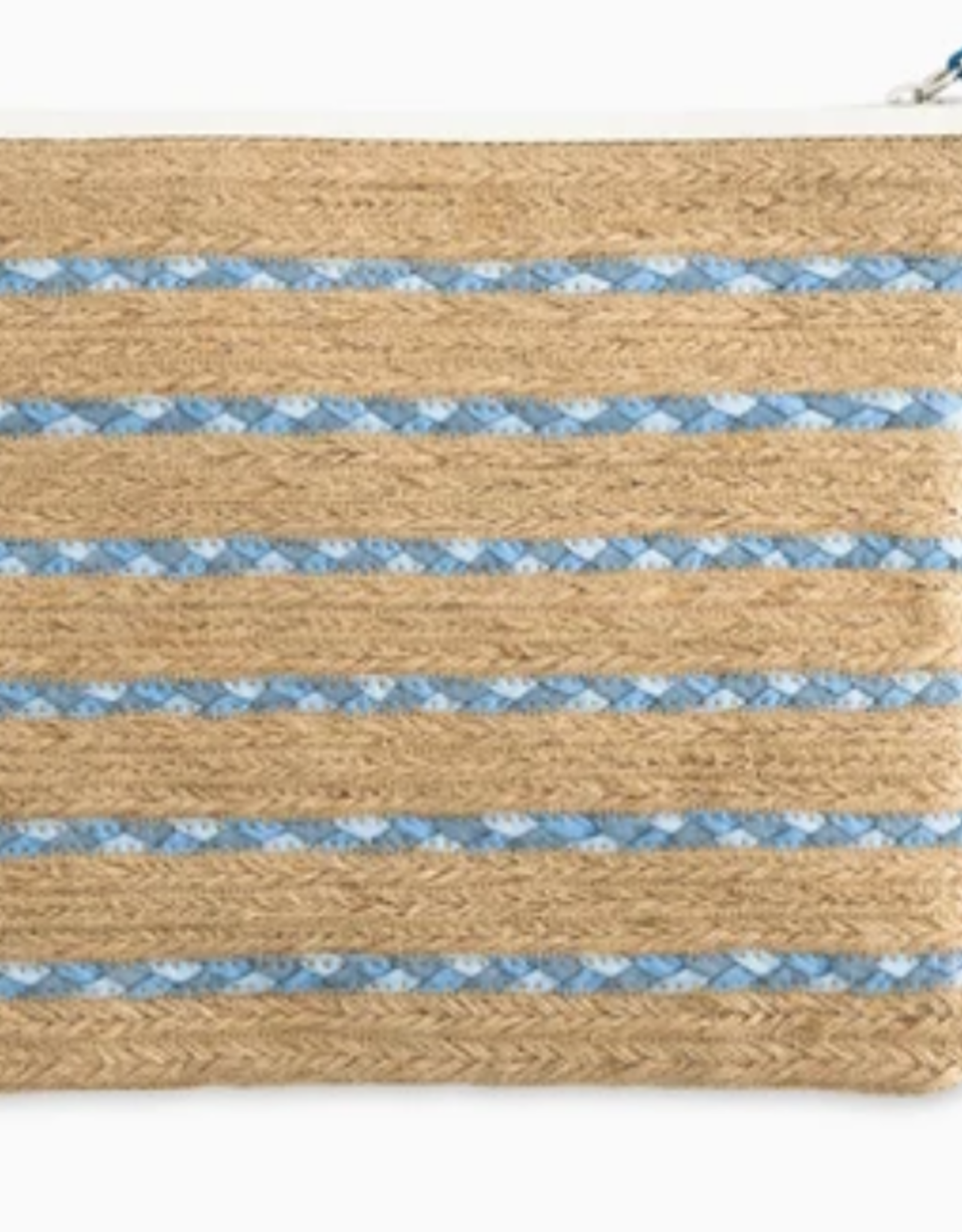SOUTHERN TIDE BRAIDED CLUTCH