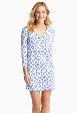 SOUTHERN TIDE JAMIE QTR SLV PERF DRESS