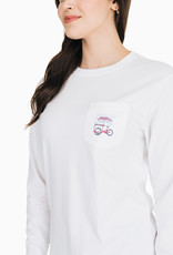 SOUTHERN TIDE ICE CREAM STOP LS TEE