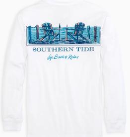 SOUTHERN TIDE SIP BACK LONGSLEEVE T SHIRT