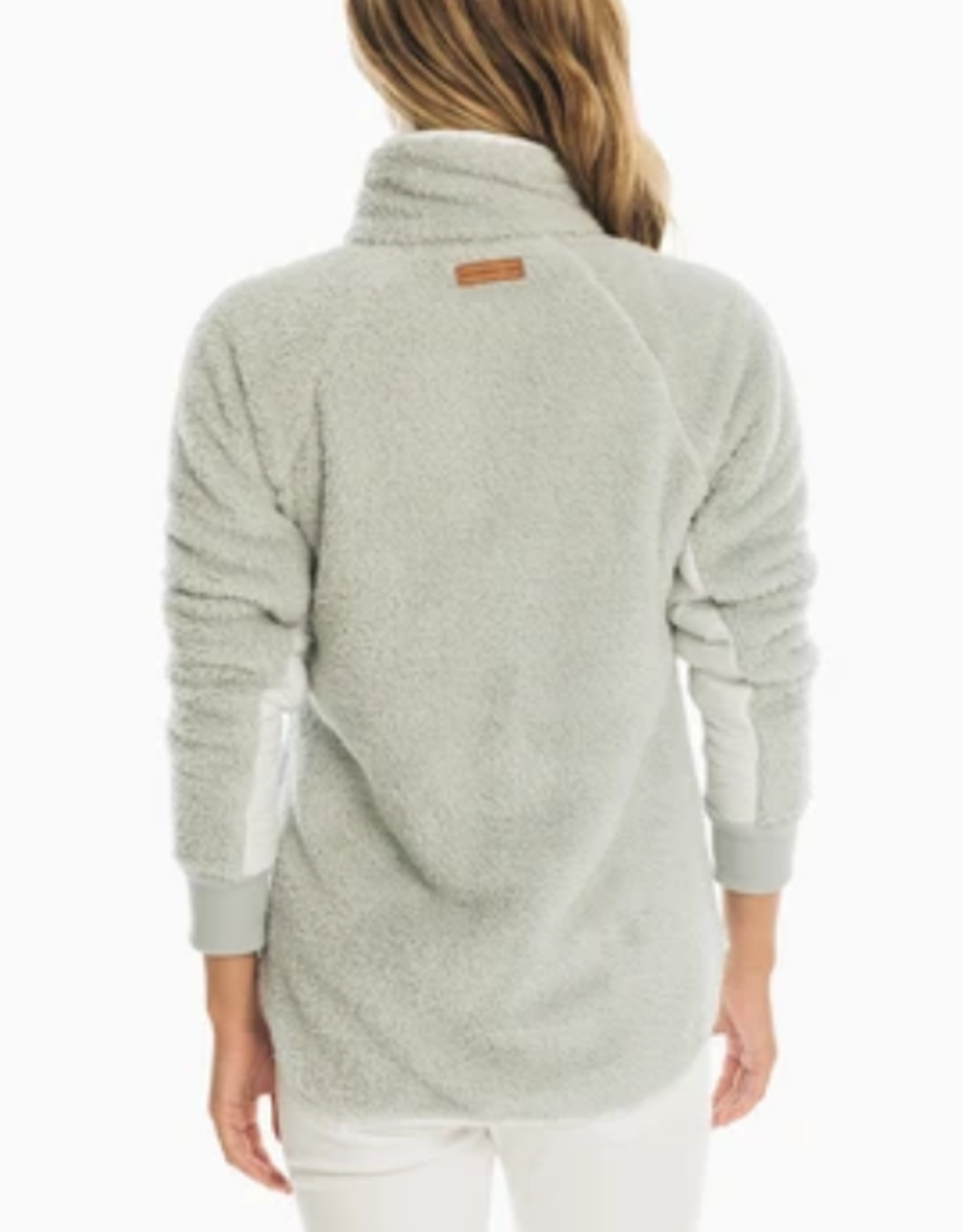 SOUTHERN TIDE LAURA FLEECE PULLOVER