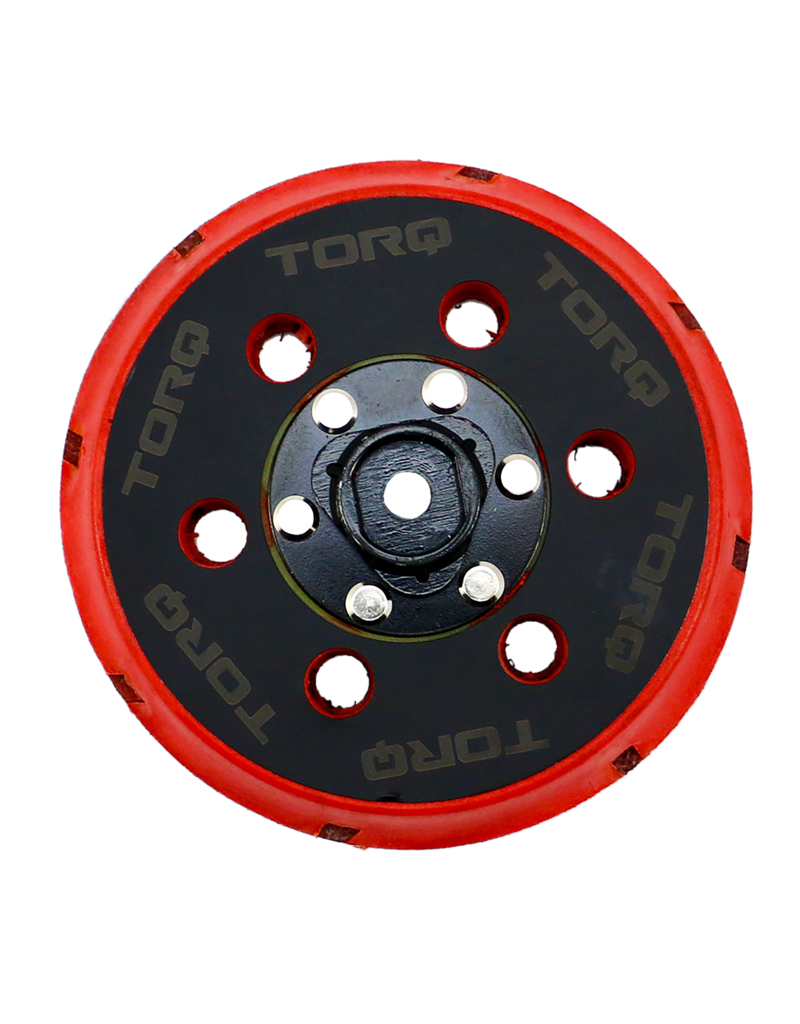 TORQ Tool Company TORQ200 5'' Backing Plate For TORQ22D Machine