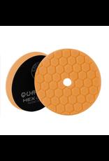 Hex-Logic BUFX112HEX5 Hex-Logic Quantum Buffing Pad -Orange -5.5''