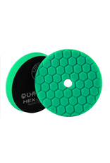Hex-Logic BUFX113HEX6 Hex-Logic Quantum Buffing Pad -Green -6.5''