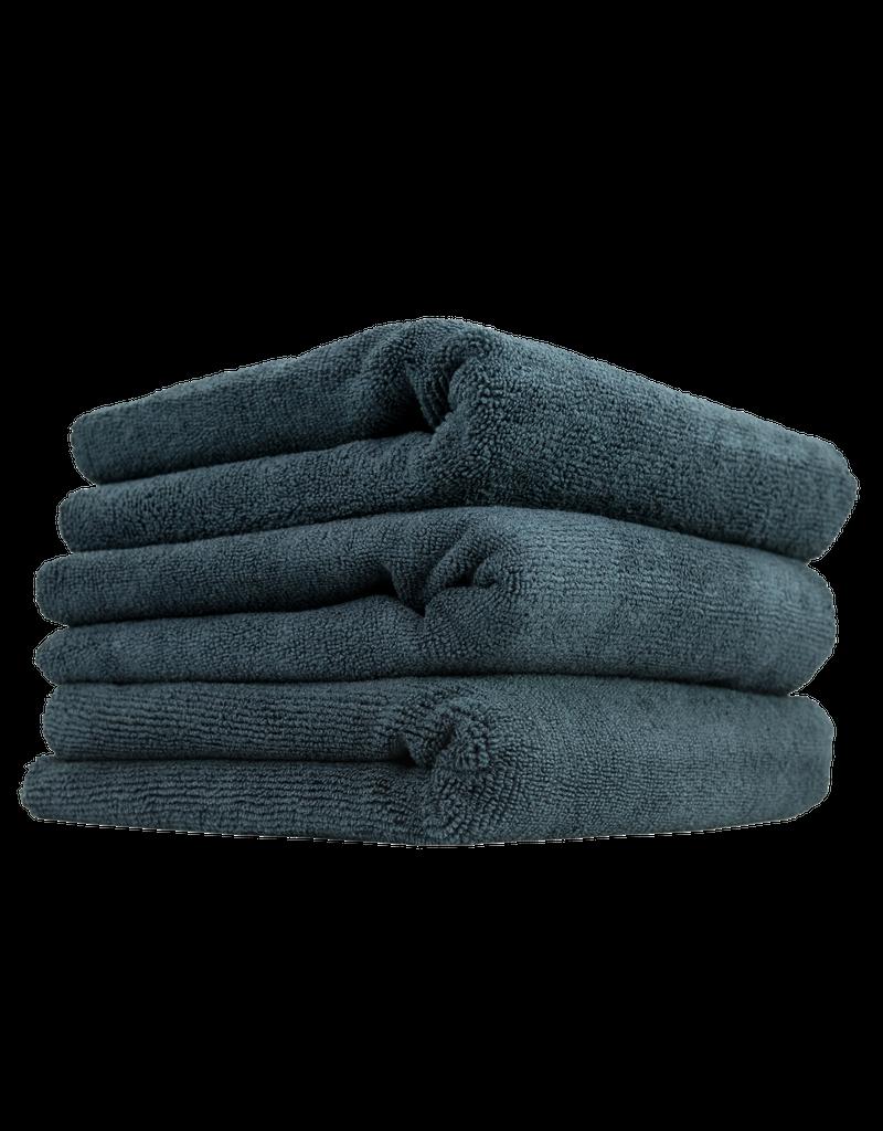 Chemical Guys MIC_805_3 704 Black Monster Edgeless Microfiber Towels- (3 Pack)