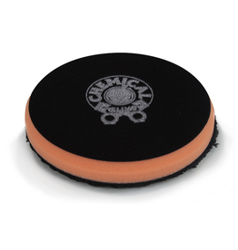 Chemical Guys BUFX_300_4 4'' Cutting Micro Fiber Pad, Orange Inner Foam, 3/4'' Thickness (1pcs)