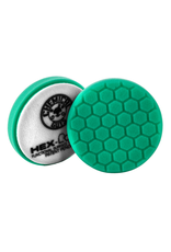 Hex-Logic BUFX_103HEX4 4 '' Hex-Logic Pad Green Light Cut-Heavy Polish Minor Scratch & Swirl Remover Pad- 4''Inch)