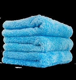 Chemical Guys MIC32103 Shaggy Fur-Ball Premium Detailing Microfiber Towel, Blue 16'' X 16'' (3 Pack)