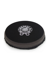 Chemical Guys BUFX_301_4 4'' Finishing Micro Fiber Pad, Black  Inner Foam, 3/4'' Thickness (1pcs)