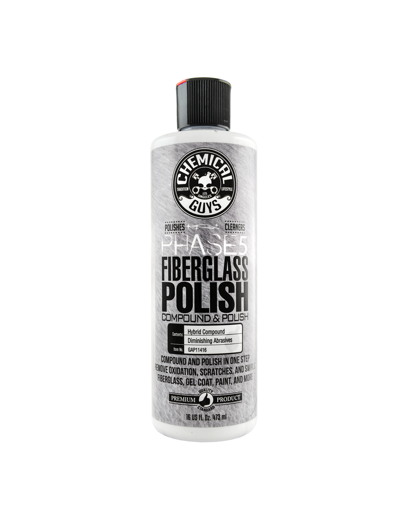 Chemical Guys GAP11416 Phase 5 Fiberglass Polish (16 oz)