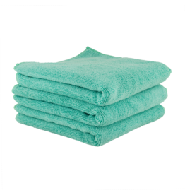 Chemical Guys MICMGREEN03-The Workhorse Towel Professional Grade Microfiber Towels, Green (3 Pack)