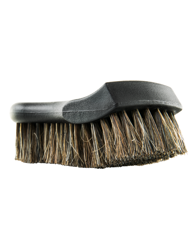 Chemical Guys ACCS96-Premium Select Horse Hair Interior Cleaning Brush for Leather, Vinyl, Fabric and More