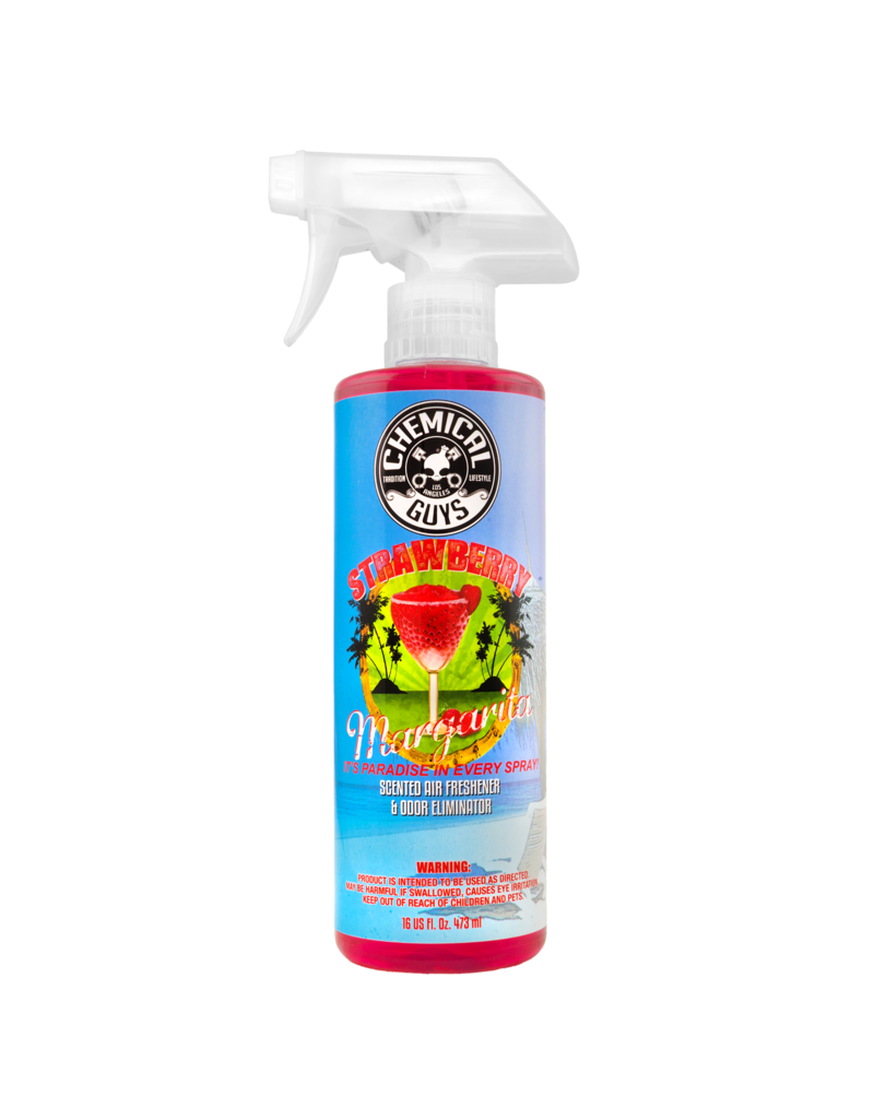 Chemical Guys AIR_223_16-Strawberry Margarita Air Freshener & Odor Neutralizer - 16 oz