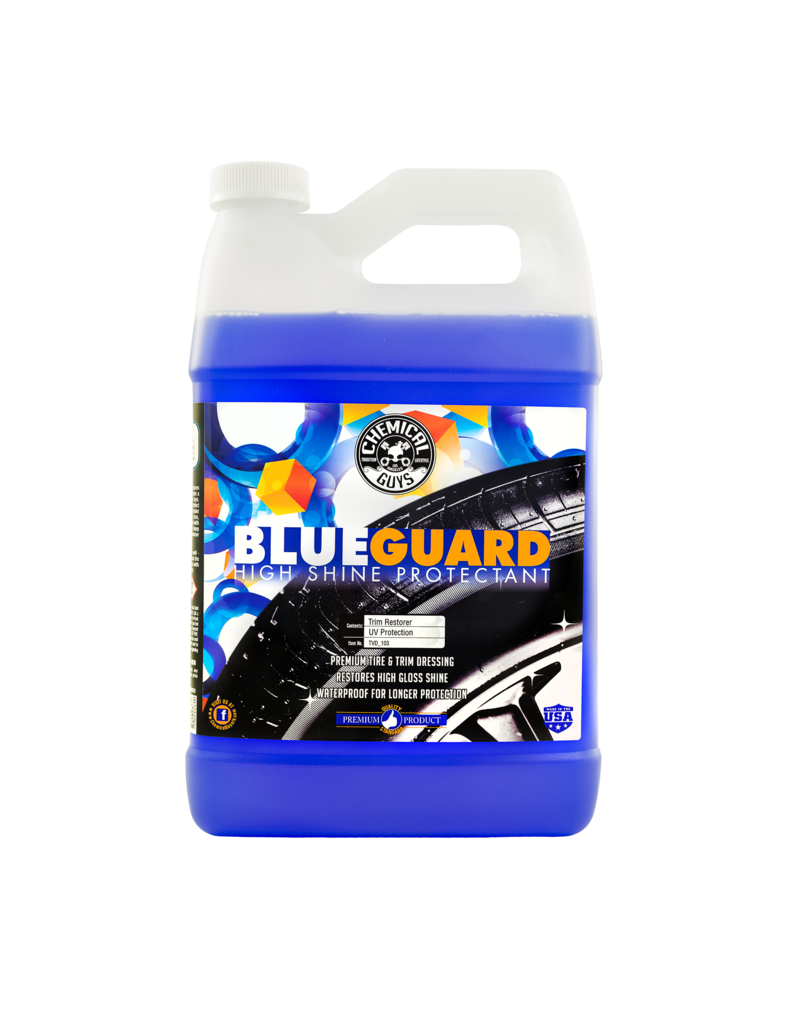 Chemical Guys TVD_103- Blue Guard - Oil Based Wet Look Shine (1 Gal)