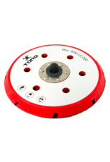TORQ BUFLC_202-TORQ R5 Dual-Action Red Backing Plate With Hyper Flex Technology (6 Inch)