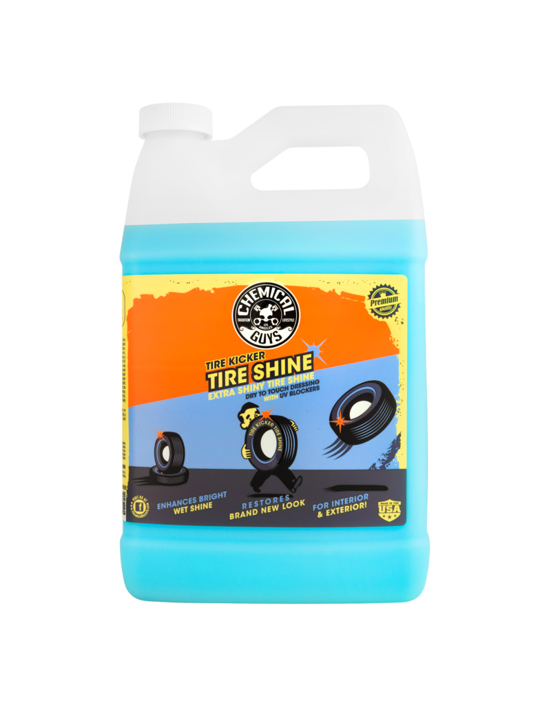 Chemical Guys TVD113- Tire Kicker Extra Glossy Tire Shine (1 Gal)
