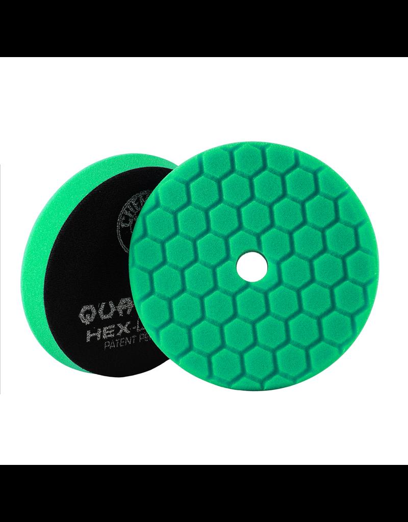 Hex-Logic BUFX113HEX5-Hex-Logic Quantum Buffing Pad -Green -5.5''