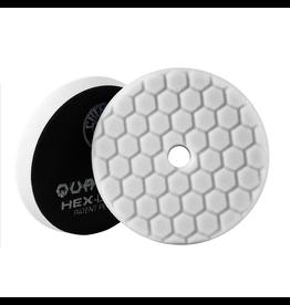 Hex-Logic BUFX114HEX5- Hex-Logic Quantum Buffing Pad -White -5.5''