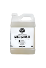 Chemical Guys CWS_1011-Maxi-Suds II: Super Suds Shampoo- Strawberry Clear - Superior Surface Shampoo (1 Gal)