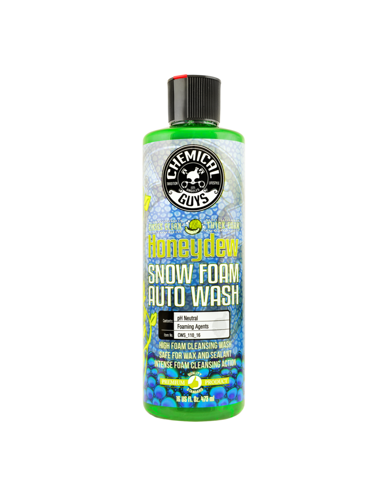 Chemical Guys CWS_110_16- Honeydew Snow Foam- Premium Auto Wash -It's Foam Party Time (16oz)