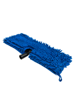Chemical Guys ACC501-Chenille Wash Mop, Blue with Plastic Head Attachment