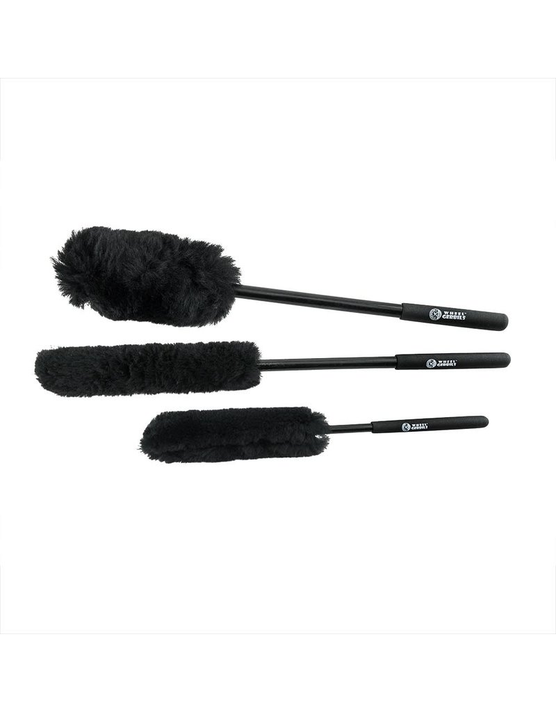 Chemical Guys ACC602 - Extended Reach Wheel Gerbils Wheel and Rim Brushes (3 Brushes)