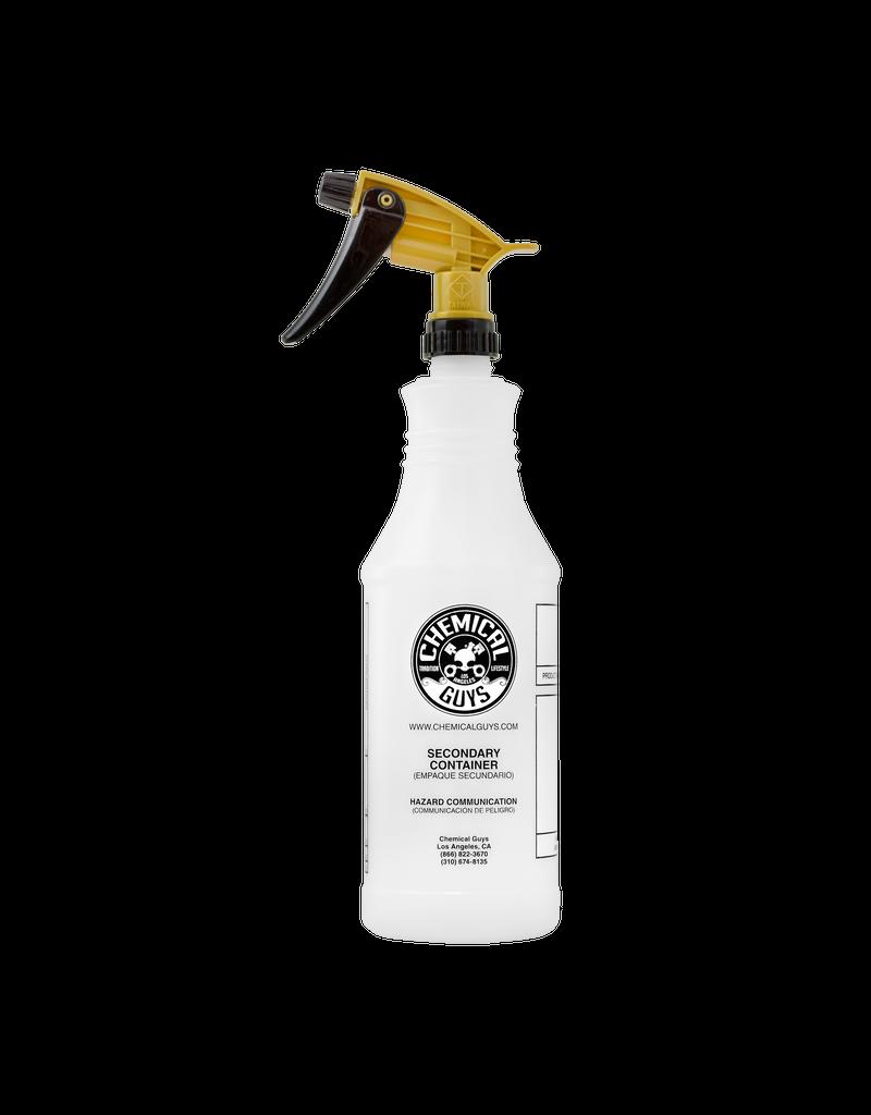 Chemical Guys ACC_136-Acid Resistant Gold Standard Trigger Sprayer & Professional Bottle (32 oz)