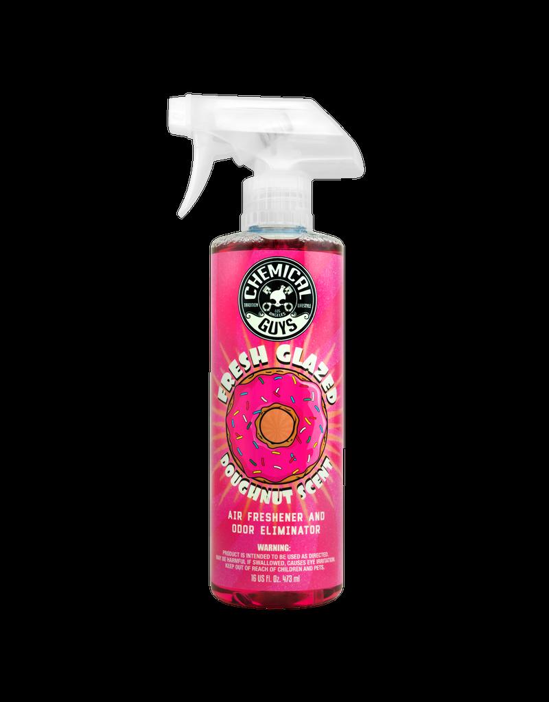 Chemical Guys AIR23316-Fresh Glazed Doughnut Scent Premium Air Freshener and Odor Eliminator (16 oz)