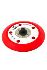 TORQ BUFLC_201-TORQ R5 Dual-Action Red Backing Plate With Hyper Flex Technology (5 Inch)